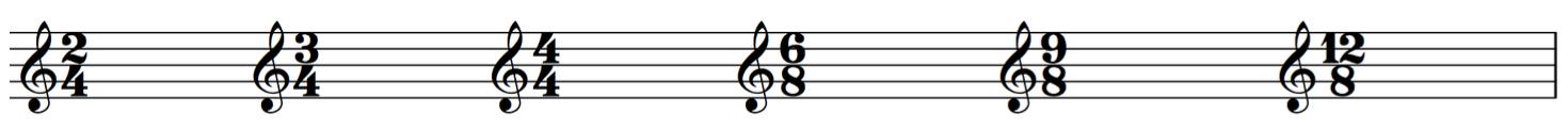 tempi musicali
