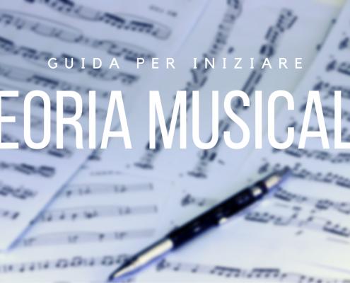 teoria musicale guida per iniziare